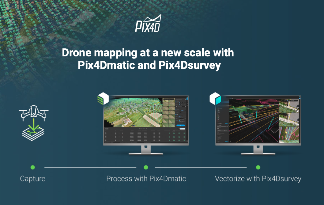 Better use drones technology to vectorize 3D data