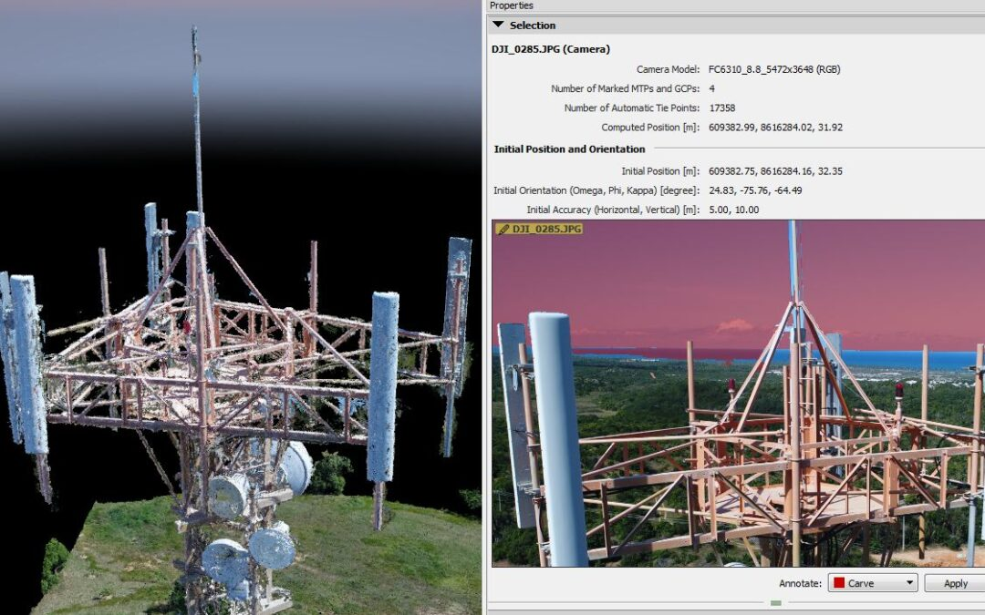 What Improved results in the point cloud…